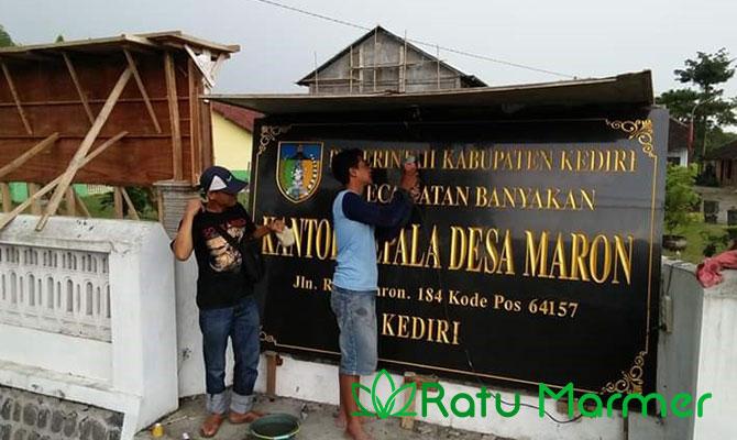 Contoh Papan Nama Marmer Prasasti 4
