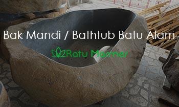 Bak Mandi Bathtub Batu Alam