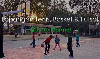 Lapangan Tenis, Basket dan Futsal