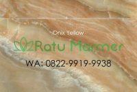 Marmer Onix Yellow