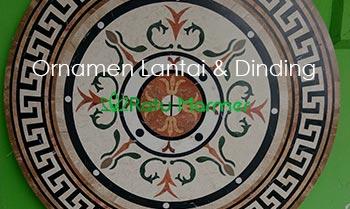 Produk Ornamen Lantai dan Dinding Marmer Tulungagung