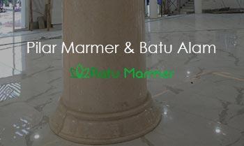 Pilar Marmer dan Batu Alam