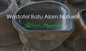Wastafel Batu Alam Natural