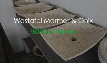 Wastafel Marmer dan Onix