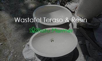 Wastafel Teraso dan Wastafel Resin