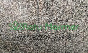 Lantai Granit Bintik Putih Poles