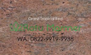 Lantai Granit Tropical Red