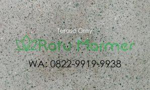 Ubin lantai teraso cetak Grey