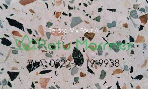 Ubin lantai teraso cetak Mix Four A